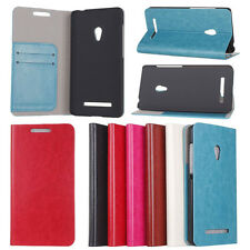 New Stand Holder PU Leather Card Wallet Case Cover for ASUS ZenFone 5