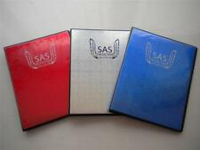 SAS Protection Trading Card Binder / Folder A5 Silver Blue or Red - DISCOUNT!!!!