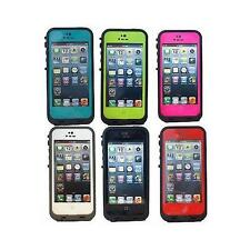 Original OEM Lifeproof Fre Case for Apple iPhone 5 & 5S 6 Colors!