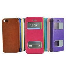 For Apple iPhone 4G /4S/ 5/ 5S/ 5CTouch Screen Folding Case Cover Skin Protector