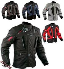 Biker Motorcycle Waterproof CE Armours Textile Touring Tex Jacket A-PRO