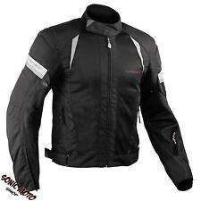 Summer Apparel Mesh Sport Racing CE Armored Jacket Motorcycle Black