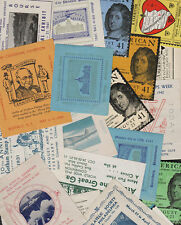 USA event poster stamps 1940 - 1942 select the ones you want...