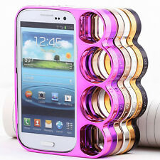 Utility Rings Knuckles Bumper Side Rim Case Cover Skin For Samsung Galaxy S3 III