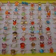 Wholesale Moony Stone Fashion adjustable Rings Party bags filler Uk Seller HOT