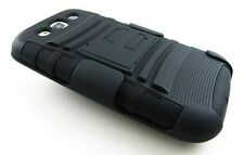 HEAVY DUTY RUGGED COMBO CASE BELT CLIP COVER FOR SAMSUNG GALAXY S3 S 3 III I9300