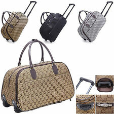Ladies Designer G Holdall Trolley Weekend Bag Hand Luggage Travel Bag Handbag