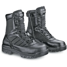 Bates® Black 8'' Tactical Police Duty Military Boot with Zipper - E02261