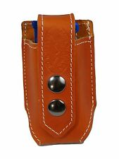 NEW Barsony Tan Leather Single Magazine Pouch for Colt Kimber Compact 9mm 40 45