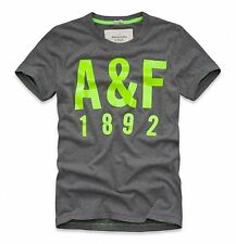 A&F Abercrombie & Fitch Men Emmons Mountain Moose Crew-Neck T-shirt Size S,M,L