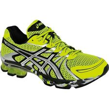 Asics Gel Sendai Yellow Silver Black Men's Running Shoes NEW T31DQ 0493 Kensei