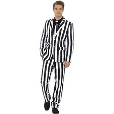 Mens New Humbug Stand Out Suit Smart Party Fancy Dress Crazy Stag Do Fun Fashion