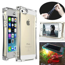 New Clear TPU Glassy Ice Cube Shockproof Crystal Case Cover For iPhone 4 5 S G