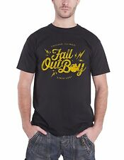 Fall Out Boy Bomb Official Mens New Black T Shirt All Sizes