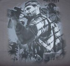 Call of Duty Black Ops II Jungle AIM Shooter  Adult T-Shirt Officially Licensed