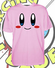 Kirby Mens Tshirt Funny Nintendo Inspired T Shirt Stag Tee Shirt New Top Pink