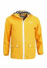 Regatta Wells Jacket - Kids Waterproof Jacket In Old Gold (RKW115)