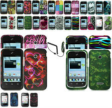 Any Design Cover Case+Car Charge  For HUAWEI INSPIRA H867G/GLORY H868C Phone