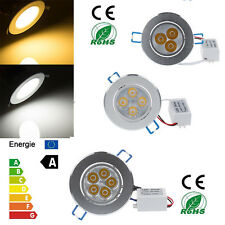 Bright Cree 9W 12W 15W Spotlight Led Cabinet Ceiling Fixture Kit Down Light Lamp