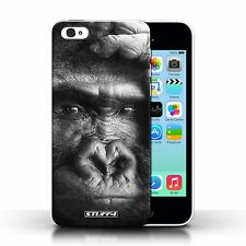 Hard Case for Apple iPhone 5c Designer Fashion Bling Phone Cover / B&W Wildlife