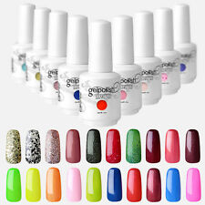 Elite99 Soak-off UV LED Gel Polish Nail Art Base Top Coat Remover Wraps 15ml New