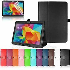 "Folio Stand PU Leather Case Cover For Samsung Galaxy Tab 4 10.1"" Inch T530 T535"