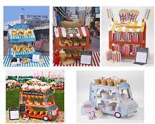 FISH N CHIPS / CUPCAKE SWEET STALL STAND / ICE CREAM VAN HOT DOG POPCORN VAN