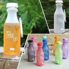 Portable Leak-proof Unbreakable Sport Travel Water Cup Cycling Camping Bottle