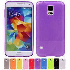 New Cheap! Candy Color Silicon Phone Case Cover JS For Samsung Galaxy S5 i9600