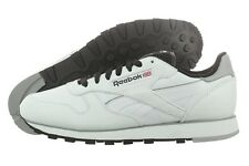 REEBOK CLASSIC LEATHER PERF M43137 EVA WHITE BLACK GREY YELLOW CASUAL SHOES MEN
