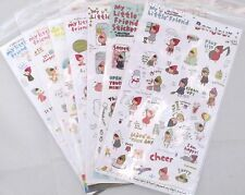 Pony Brown My Little Friend Sticker Sheet (Your Choice of Design)~KAWAII!!