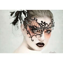 Sexy Black Lace Mask Masquerade Fancy Costume Party Ball Hollow Flower Eye Masks