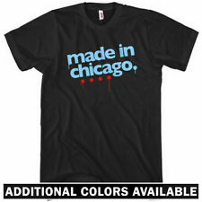 Made in Chicago T-shirt - Chi-Town Windy City 312 773 Cubs - Men and Kids XS-4XL