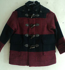 Hackett Boys Stripe Duffle Coat Age 2,3,4,5,6,7,8,9,10 New Free Post RRP £243