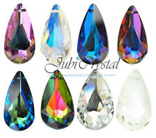 1 PC SWAROVSKI ELEMENTS 6100 Teardrop Pendant Crystal - All Sizes & All Colous