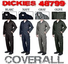 NEW DICKIES 48799 L/S COVERALLS LONG SLEEVE MENS BLACK NAVY GRAY