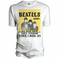 THE BEATLES - ALL STAR SHOW (SHEA STADIUM) - OFFICIAL MENS T SHIRT