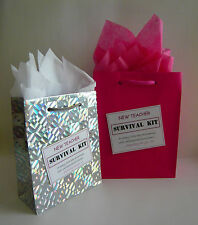 NEW TEACHER Survival Kit FEMALE Novelty Gift Idea For Someone Becoming A Teacher