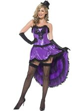 Womens Sexy Burlesque Glamour Costume Fancy Dress Corset Skirt Hen Night Fun Hat