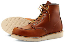 RED WING HERITAGE BOOTS 875 MOC TOE  IN D WIDTH