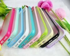 SOFT RUBBER THIN TRANSPARENT SILICONE SKIN BUMPER CASE COVER FOR IPHONE 4 4S 5S