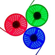 Continuous 1M - 30M RGB 5050 SMD Waterproof LED Light Strip Flexible + 12V Power