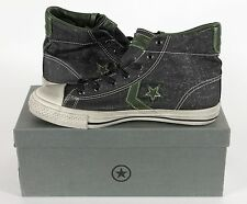 Converse by John Varvatos Canvas Star Player Mid Shoe - US M-9/W-11 - Blk/Grn