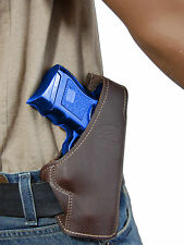 New Barsony Brown Leather Pancake Gun Holster Walther Steyr Compact 9mm 40 45