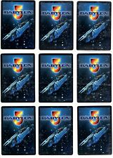Babylon 5 ccg The Shadows Rare cards Precedence 4/4