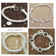 NEW! Silver Sweetie Bracelet Selection & Gift Bag