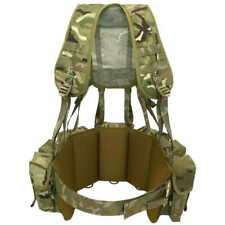 British Army PLCE Airborne SAS Para Webbing Yoke Set MTP Multicam - BRITISH MADE