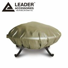 Deluxe All Weather Protect Outdoor Patio Round Fire Pit Cover 44 in.D 60 in.D