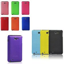 Hard Skin Perforated Mesh Back Case Cover For Samsung Galaxy Note N7000 N7005 4G