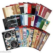 Hunkydory CONTEMPORARY CHRISTMAS  Luxury Topper Die-Cut Cardmaking Set